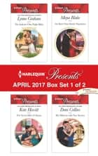 Harlequin Presents April 2017 - Box Set 1 of 2 - The Italian's One-Night Baby\The Secret Heir of Alazar\The Boss's Nine-Month Negotiation\His Mistress with Two Secrets ebook by Lynne Graham, Kate Hewitt, Maya Blake,...