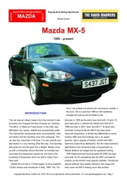Mazda MX5 Buyers' Guide ebook by Mellor, Chris