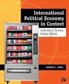 International Political Economy in Context ebook by Andrew C. Sobel