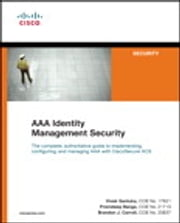 AAA Identity Management Security ebook by Vivek Santuka,Premdeep Banga,Brandon J. Carroll