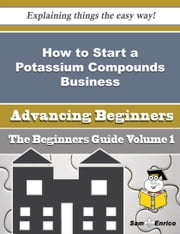 How to Start a Potassium Compounds Business (Beginners Guide) ebook by Sommer Hickman,Sam Enrico