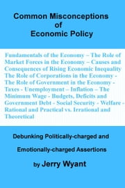Common Misconceptions of Economic Policy ebook by Jerry Wyant