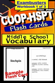 COOP-HSPT Test Prep Essential Vocabulary Review--Exambusters Flash Cards--Workbook 1 of 3 - COOP Exam Study Guide ebook by COOP Exambusters