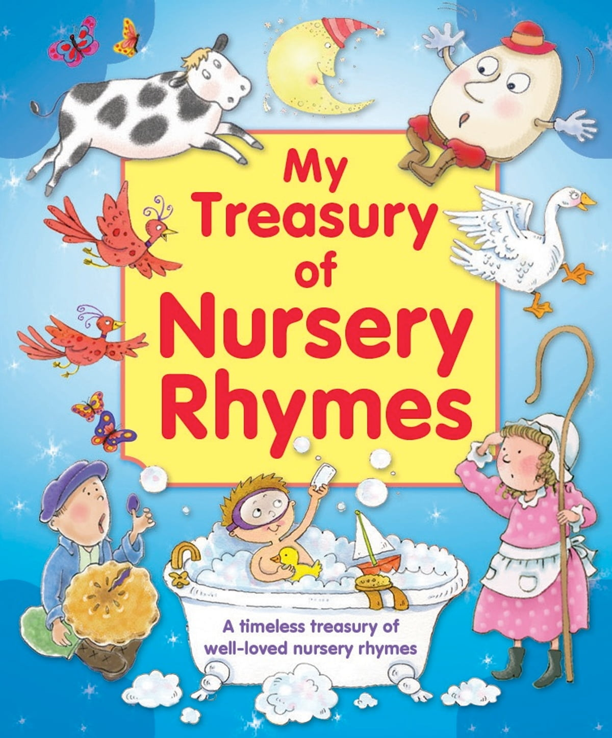 favorite nursery rhymes ten - HD 1200×1445