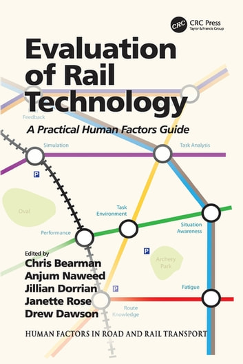 Evaluation of Rail Technology - A Practical Human Factors Guide ebook by Anjum Naweed,Jillian Dorrian,Janette Rose