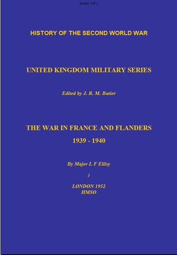 The War in France and Flanders ebook by L  Ellis