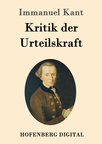 Kritik der Urteilskraft ebook by Immanuel Kant