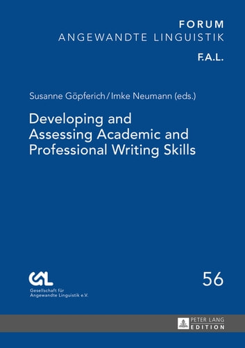 academic and professional writing pdf