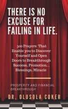 There is no excuse for failing in life: - 500 prayers that enable you to discover yourself and open doors to breakthrough ebook by
