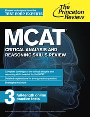 MCAT Critical Analysis and Reasoning Skills Review - New for MCAT 2015 ebook by Princeton Review