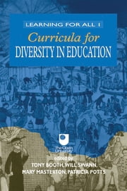 Curricula for Diversity in Education ebook by Tony Booth,Mary Masterton,Patricia Potts,Will Swann