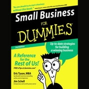Small Business for Dummies 2nd Ed. audiobook by Eric Tyson, Jim Schell