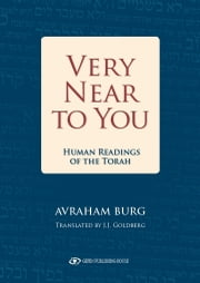 Very Near to You  ebook by Avraham Burg