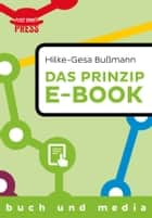 Das Prinzip E-Book ebook by Hilke-Gesa Bußmann