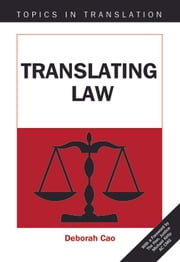 Translating Law ebook by Deborah CAO