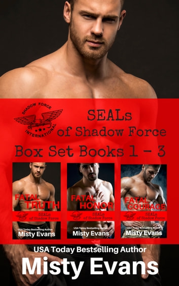 SEALs of Shadow Force Box Set Books 1 - 3 ebook by Misty Evans