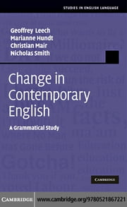 Change in Contemporary English ebook by Leech, Geoffrey