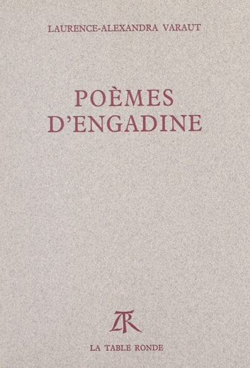 Poèmes d'Engadine ebook by Laurence-Alexandra Varaut