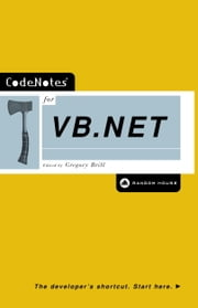 CodeNotes for VB.NET ebook by Gregory Brill