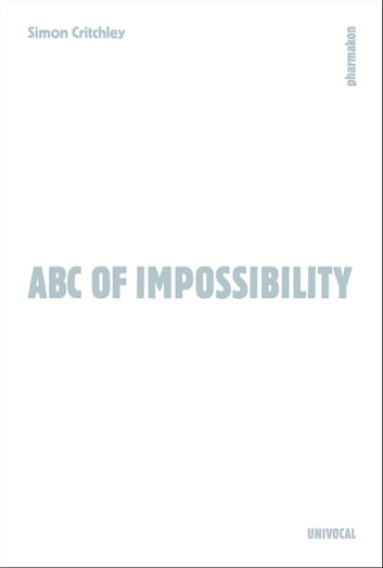 ABC of Impossibility ebook by Simon Critchley