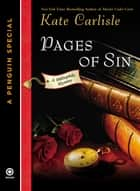 Pages of Sin ebook by Kate Carlisle