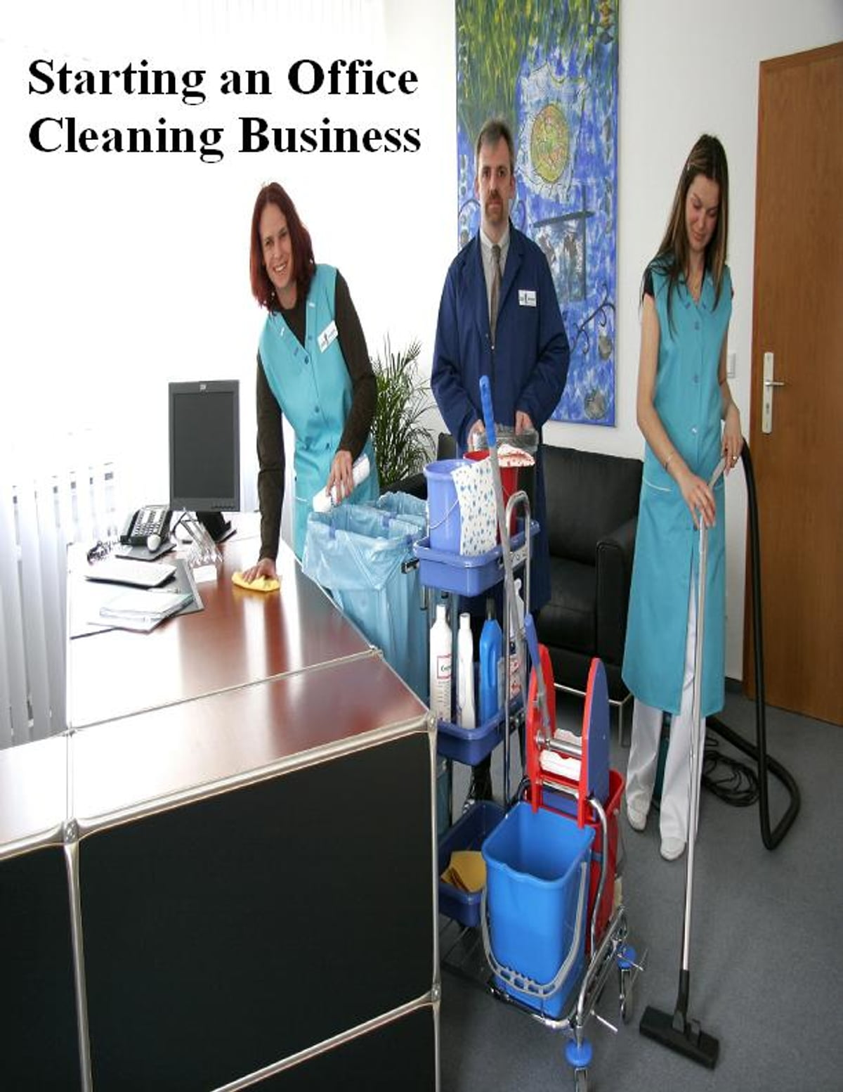 Starting an Office Cleaning Business eBook by V.T. - 1230000233180 ...