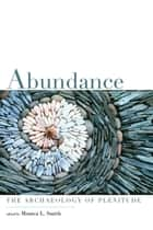 Abundance - The Archaeology of Plenitude ebook by