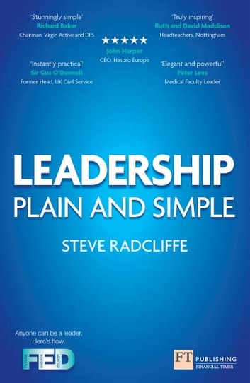 Leadership - Plain and Simple ebook by Steve Radcliffe