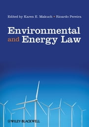 Environmental and Energy Law ebook by
