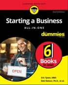 Starting a Business All-in-One For Dummies ebook by Bob Nelson, Eric Tyson