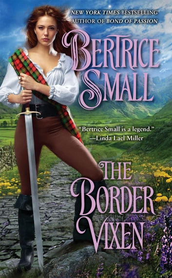 The Border Vixen ebook by Bertrice Small