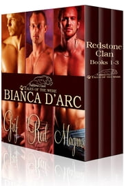 Redstone Clan 1-3 - (werecat paranormal vampire supernatural romance) ebook by Bianca D'Arc