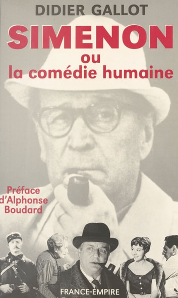 Simenon ebook by Didier Gallot