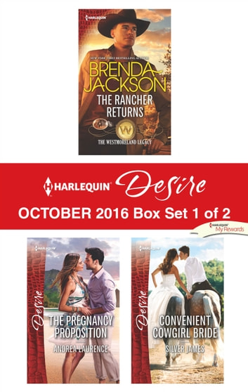 Harlequin Desire October 2016 - Box Set 1 of 2 - An Anthology 電子書 by Brenda Jackson,Andrea Laurence,Silver James
