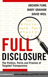 Full Disclosure ebook by Fung,Archon