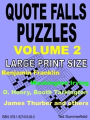 Quote Falls Puzzles. Volume 2. ebook by Ted Summerfield