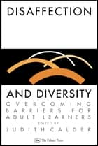 Disaffection And Diversity ebook by Judith Calder