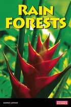 Rain Forests ebook by Donna Latham