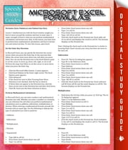 Microsoft Excel Formulas ebook by Speedy Publishing