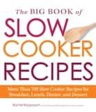 The Big Book of Slow Cooker Recipes ebook by Rachel Rappaport