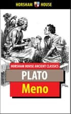 Meno ebook by Plato, Benjamin Jowett (Translator)