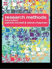 Research Methods ebook by Steve Chapman,Patrick McNeill,Patrick Mcneill