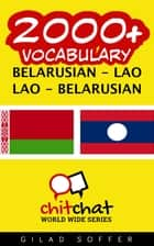 2000+ Vocabulary Belarusian - Lao ebook by Gilad Soffer