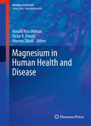 Magnesium in Human Health and Disease ebook by