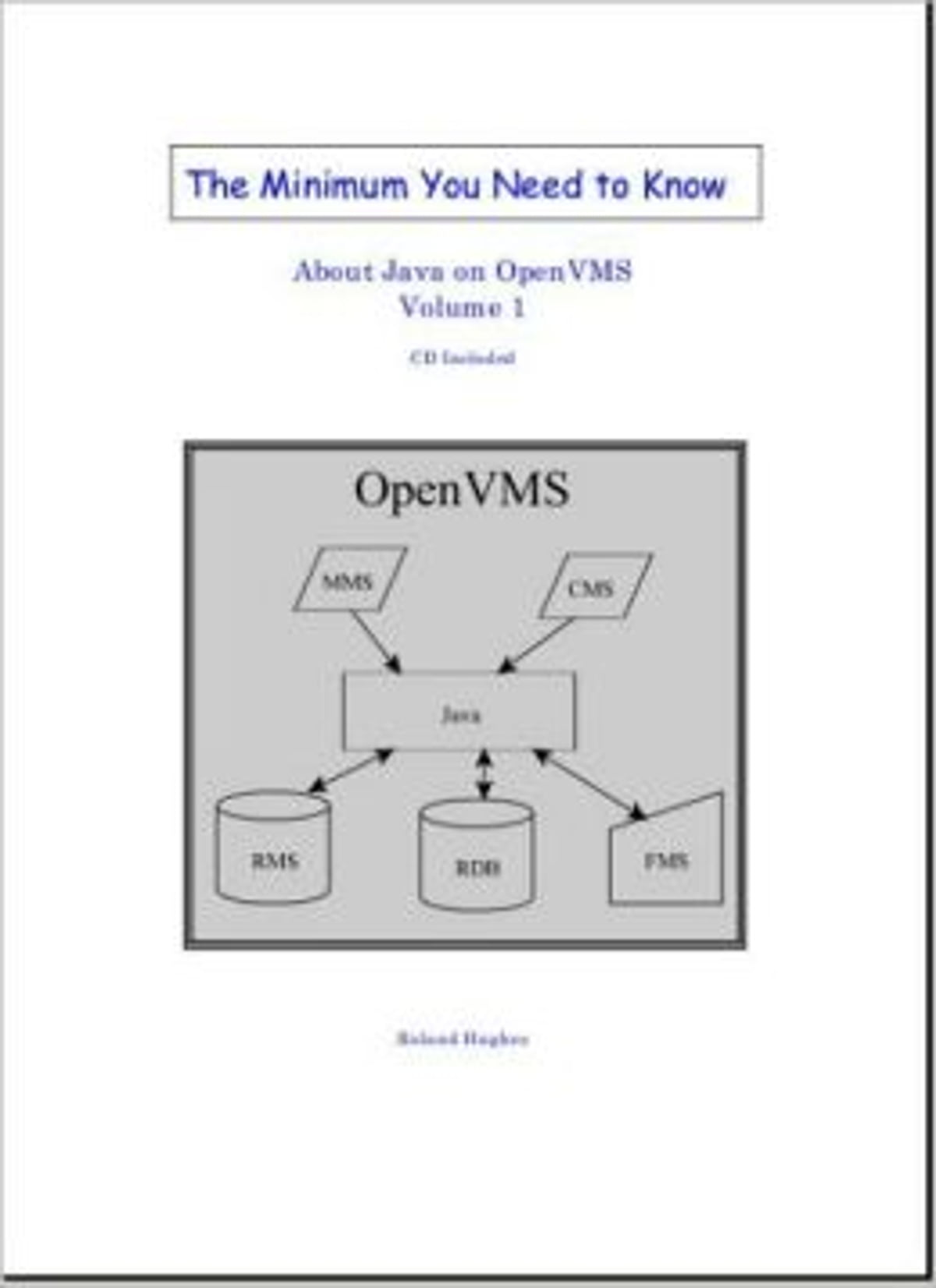The Minimum You Need to Know About Java on OpenVMS eBook by Roland Hughes -  9780977086641   Rakuten Kobo