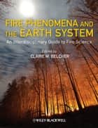 Fire Phenomena and the Earth System ebook by Claire M. Belcher