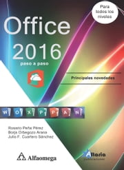 Office 2016 - Paso a paso ebook by Kobo.Web.Store.Products.Fields.ContributorFieldViewModel