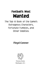 Football's Most Wanted™ ebook by Floyd Conner