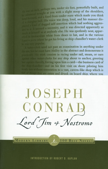 Lord Jim and Nostromo - (A Modern Library E-Book) ebook by Joseph Conrad