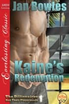 Kaine's Redemption ebook by